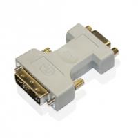 Adaptador DVI ( 12 + 5p) macgo para VGA ( HDB15) F