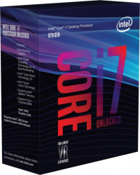 intel® Core I7 8700K 3.7GHz 12MB LGA 1151 ( Coffee Lake) - sem cooler