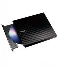 SDRW-08D2S-U LITE/BLK/G/AS USB 2.0 - Gravador DVD Slim 8x externo USB - Preto