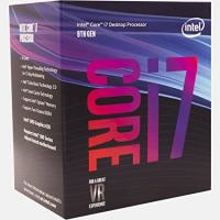 intel® Core I7 8700 3.2GHz 12MB LGA 1151 ( Coffee Lake)