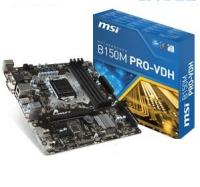 B150M PRO VDH - Intel B150, LGA1151, DDR4(Dual Channel), microATX