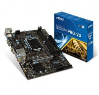 B250M PRO VD - Intel B250, LGA1151, DDR4(Dual Channel), microATX