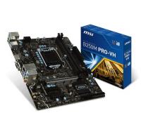 B250M PRO VH - Intel B250, LGA1151, DDR4(Dual Channel), microATX