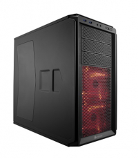 GraphiteSeries 230T Windowed Black with Red LED
