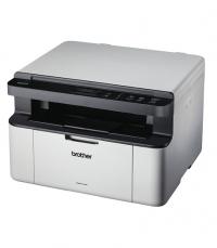 DCP-1610W - Mult.com scanner Horizontal sem fax: Impressora laser 20ppm, copiadora 20 cpm com WiFi, bandeja de papel para 150 folhas, 32 MB, GDI - Design branco