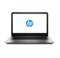 HP 17-X000NP - Intel Celeron N3060, 1.6Ghz (2.48Ghz/DC), 4GB DDR3L 1600Mhz, 1TB 5.400rpm Sata, Dropbox, Intel HD Graphics, DVDRW SM, Eth 10/100, Combo 802.11b/g/n (1x1) + Bluetooth 4.0 (comp.Miracast), 4Cél., 45W Ac, Windows 10 Home 64 - Prateado