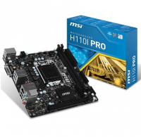 H110I PRO - Intel H110, LGA1151, DDR4(Dual Channel), Mini-ITX