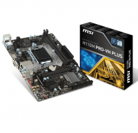 H110M PRO VH PLUS - Intel H110, LGA1151, DDR4(Dual Channel), microATX