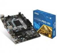 H110M PRO VH - Intel H110, LGA1151, DDR4(Dual Channel), microATX