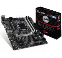 H270M BAZOOKA - Intel H270, LGA1151, DDR4(Dual Channel), microATX