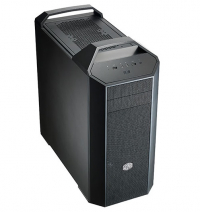 MasterCase Pro 5, exterior expandability, unique click and click, supports up to 6x 140mm fans, Top cover panel for 240mm radiator, up to 280mm radiator in front, dual chamber, slip-and-clip SSD pockets. Transparent side panel included - Sem Fonte