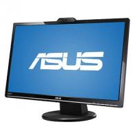 "VK248H - Monitor LCD IPS - 24"" - 1920 x 1080 FullHD - 250 cd/m2 - 50000000:1 - 2ms - USB, HDMI, DVI-D, D-Sub - Colunas - WebCam - VESA - EPEAT"
