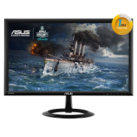 "VX228H - Gaming Monitor LED - 21.5"" - 1920 x 1080 FullHD - 250 cd/m2 - 80000000:1 - 1ms - 2xHDMI, D-Sub - Colunas - VESA - GamePlus - EyeCare (ULBL) - EPEAT"