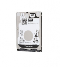 "WD Black HDD 500GB 2.5"" 32mb cache SATA 7200 RPM"