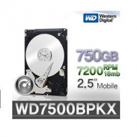 "WD Black HDD 750GB 2.5"" 16mb cache SATA 7200 RPM"