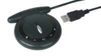 Gamepad wireless com vibração USB