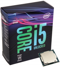 intel® Core I5 8600K 3.6GHz 9MB LGA 1151 ( Coffee Lake) - sem cooler
