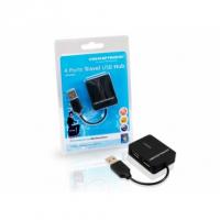 MINI HUB COM 4 PORTS USB 2.0 . EXTREMAMENTE COMPACTO