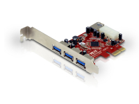 PCI Express Card 4-Port USB 3.0