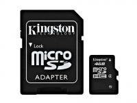 Micro SD card 4GB Alta Capacidade - com adaptador SD