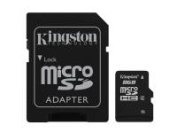 Micro SD card 8GB Alta Capacidade - com adaptador SD