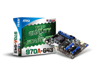 970A-G43 - MB Socket 942 ( AM3+), chipset AMD 970+SB950, DDR3 1333/1600 ATX