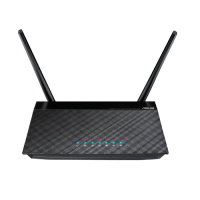 RT-N12D - Stylish Wireless 300N Router com antena destacável 5dbi