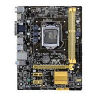 H81M-A - LGA 1150, Intel H81, 2DDR3(Dual Channel), vga integrada, 1 x D-Sub + 1 x DVI + 1 x HDMI,SATA 6Gb/s*2 + SATA 3Gb/s*2 MicroAtx