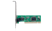 10/100M PCI Network Interface Card, Realtek RTL8139D chip, RJ45 port, driver CD, retail package, without Bootrom socket