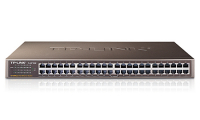 48-port 10/100M Switch, 48 10/100M RJ45 ports, 1U 19-inch rack-mountable steel case