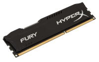 DDR3 HyperX 8GB 1600MHz CL10 FURY Black Series