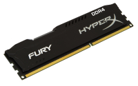 DDR4 4GB 2400Mhz DDR4 CL15 HyperX FURY Black