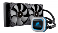 Hydro Series, H115i PRO, 280mm Radiator, Advanced RGB Lighting and Fan Control with Software, Liquid CPU Cooler
