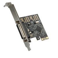 Placa PCI express com 1 porta paralela