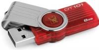 Data Traveler 101 8GB - Vermelho