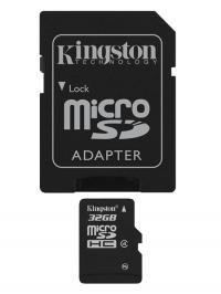 Micro SD card 32GB Classe 4 - com adaptador SD
