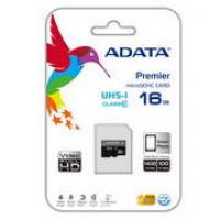 MICRO SDHC 16GB U1 CLASS 10 ADATA C/ ADAPTADOR SD
