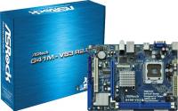 MB ASROCK G41M-VS3 R2.0 S775 DDRIII ST2 LAN VGA PCIE