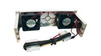 Refrigerador para HDD 2 ventoinhas + filtro