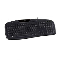 Teclado KB-M205, 6 Hotkeys, Black, USB, Português
