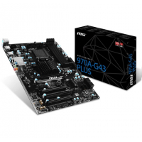 970A G43 PLUS - MB Socket 942 (AM3+) ATX