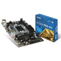 B150M PRO VH - Intel B150, LGA1151, DDR4(Dual Channel), microATX