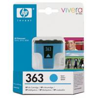 HP 363 Cyan Ink Cartridge
