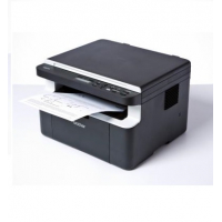 DCP-1612W - Mult.com scanner Horizontal sem fax: Impressora laser 20ppm, copiadora 20 cpm, com WiFi, bandeja de papel para 150 folhas, 32 MB, GDI. Inclui toner para 1.000 págs - Design preto