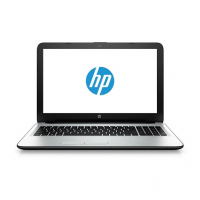 "HP 15-ac101np - Intel Celeron N3050, SDRAM DDR3L de 4GB, SATA 1TB 5400 rpm, Câmara Web HP TrueVision HD (frontal), Ethernet LAN Base-T 10/100 integrada, Combinação 802.11b/g/n (1x1) e BT 4.0, 15.6"", Intel HD, Windows 10 Home 64 - Prateado branco"