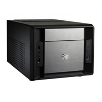 "Elite 120 Advanced, ultra compact, Unprecedented airflow for a Mini-ITX case, Supports Ultra High-End VGA's (HD7990/GTX690), USB 3.0, 1x 5.25"", 3 x 3.5"" Suports standard ATX PSU - Sem Fonte"