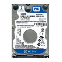 "WD Blue HDD 500GB 8mb cache 5400rpm 7 mm 2.5"" SATA 6Gb/s"