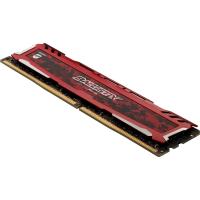 DDR4 8192MB 2400 1X288 UDIMM CL16 1.2V SR BALLISTIX SPORT
