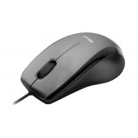 Carve USB Optical Mouse - Black