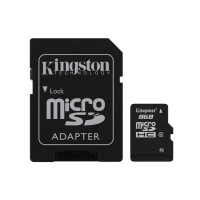Micro SD card 8GB Alta Capacidade - com adaptador SD